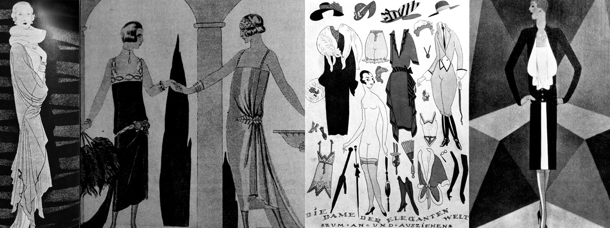 «Roaring» 20s of XX century. The History of Costume.