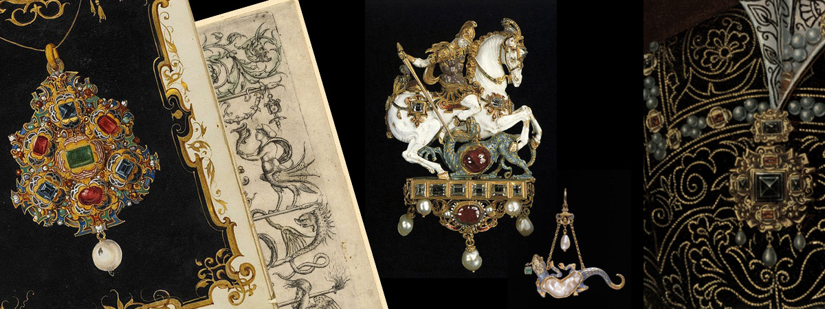 The fantastic way of art of XVI century. The extravagant mannerism. The Jewellery of Germany.