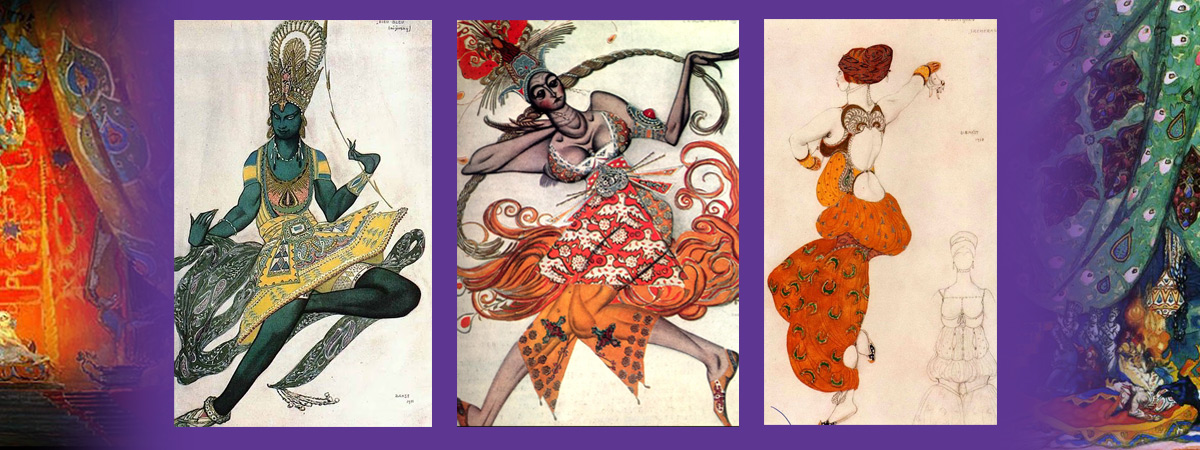 Artists and theatre. Part1. Leon Bakst